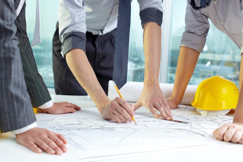 O planejamento é o primeiro passo para o sucesso das obras.